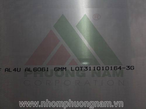 Nhôm tấm hợp kim A6061 Hàn Quốc