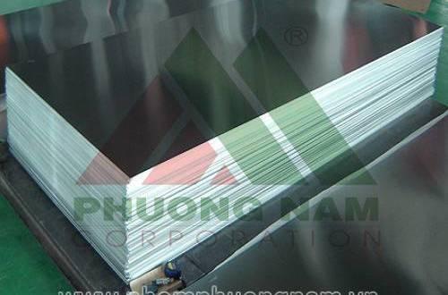 Nhôm Tấm A5052 Dày 4mm, 5mm, 6mm, 8mm Gía Rẻ